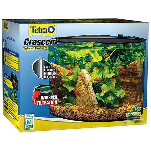 Tetra-Crescent-Acrylic-Aquarium-Kit,-Energy-Efficient-LEDs