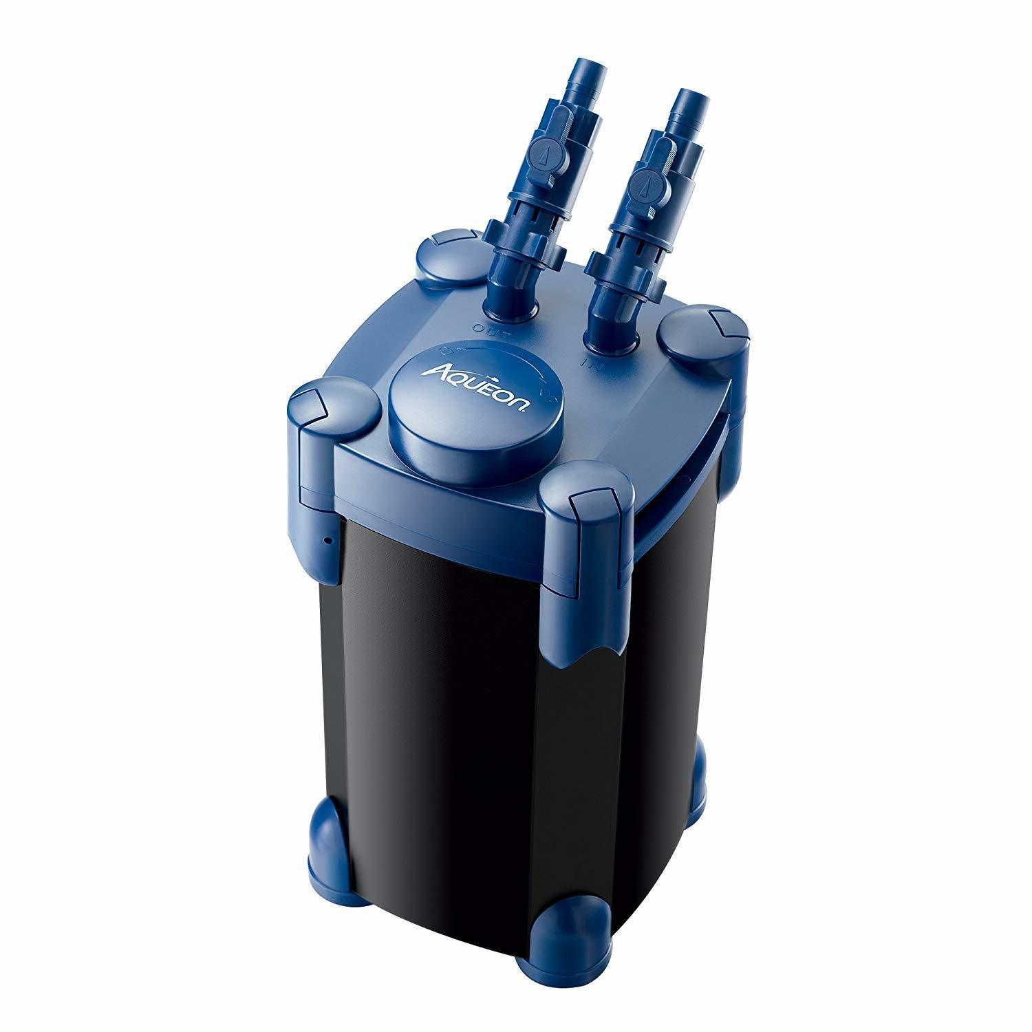 Aqueon QuietFlow Canister Filter, 55 gallons