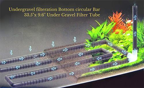 Undergravel-filteration-Bottom-circular-Bar-Under-Gravel-Filter-Tube