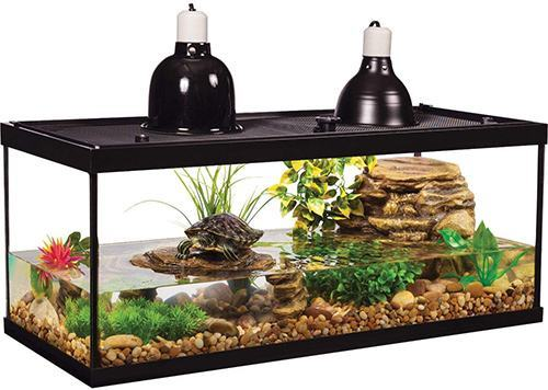 Tetra-Aquarium-Reptile-Glass-Kit-with-Two-Dome-Lamps