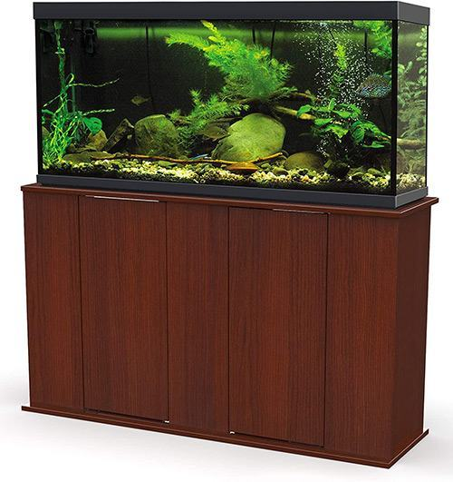 5. Aquatic Fundamentals Aquarium Stand with Storage