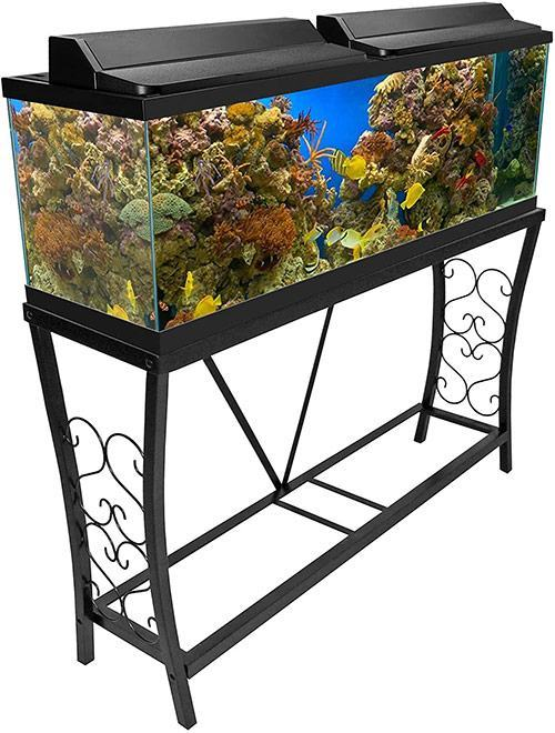 Aquatic Fundamentals Metal Aquarium Stand 55 Gallon