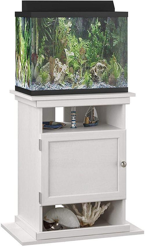 Hutch-Ameriwood-Home-Flipper-10-20-Gallon-Aquarium-Stand,-Ivory-Oak